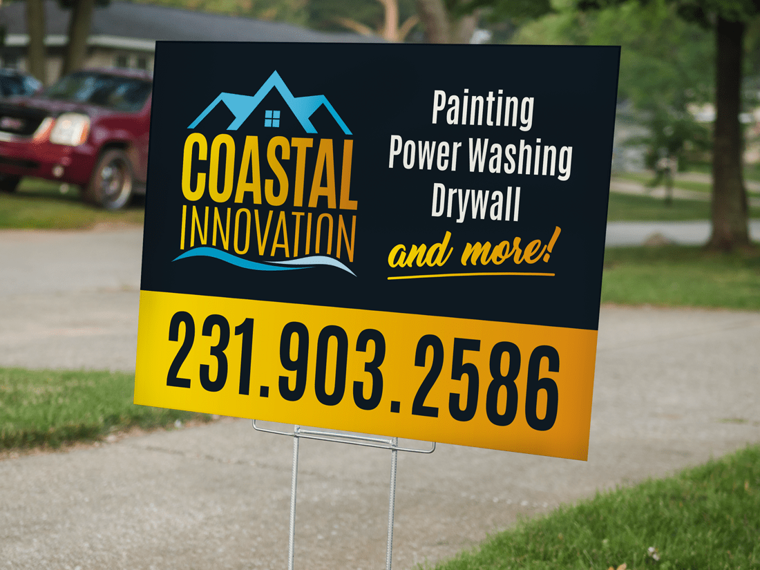 LAWN SIGNS / BAG SIGNS - Sherwood Design and print