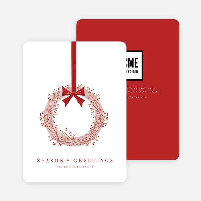 Business And Corporate Holiday Cards Printing In Toronto